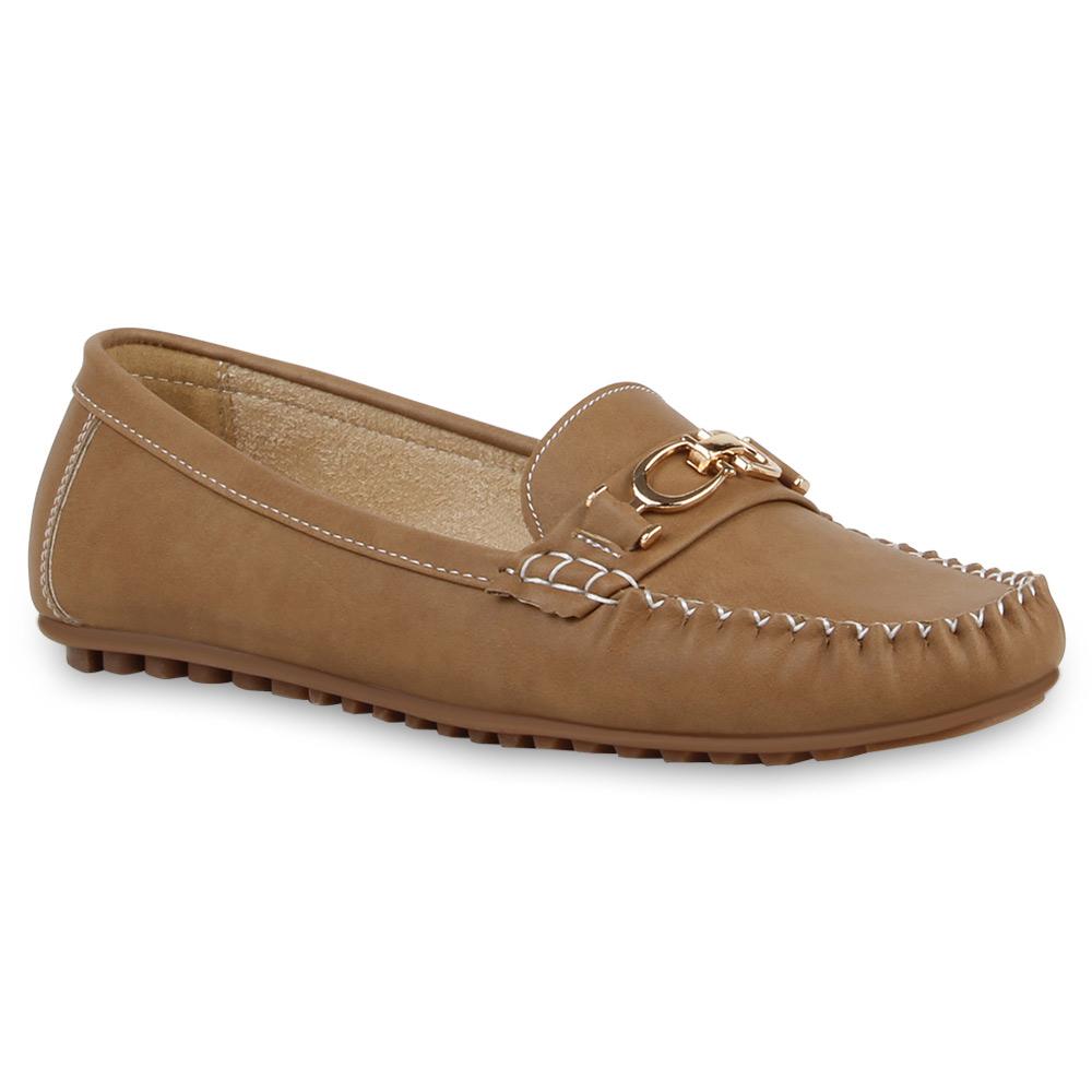 Damen Klassische Slippers - Khaki