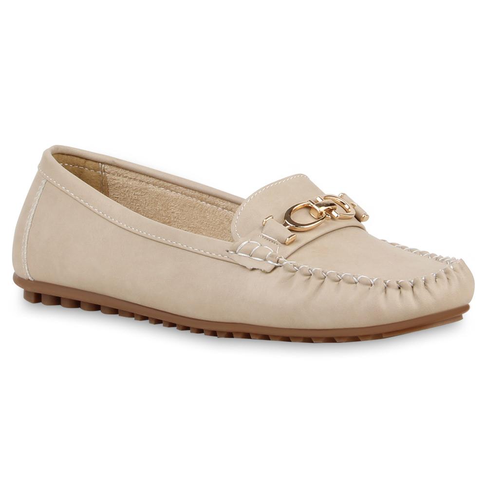 Damen Klassische Slippers - Nude