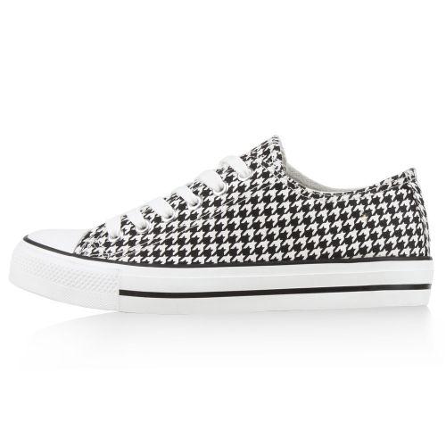 Damen Sneaker low - Schwarz Weiß