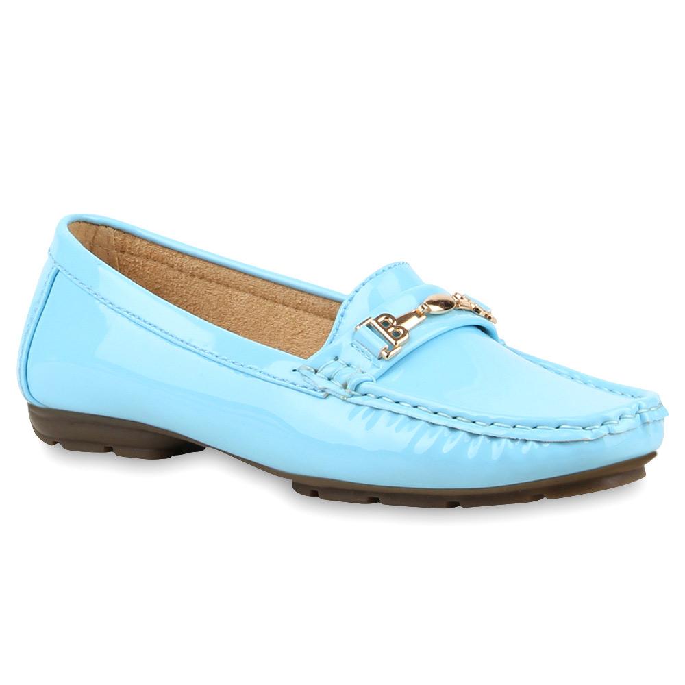 Damen Klassische Slippers - Hellblau