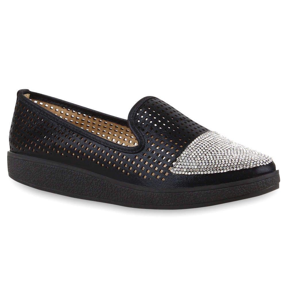 Damen Loafers - Schwarz