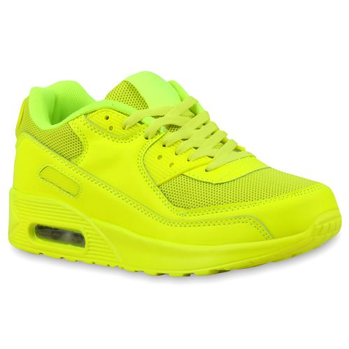 Damen Sportschuhe Laufschuhe - Neongelb