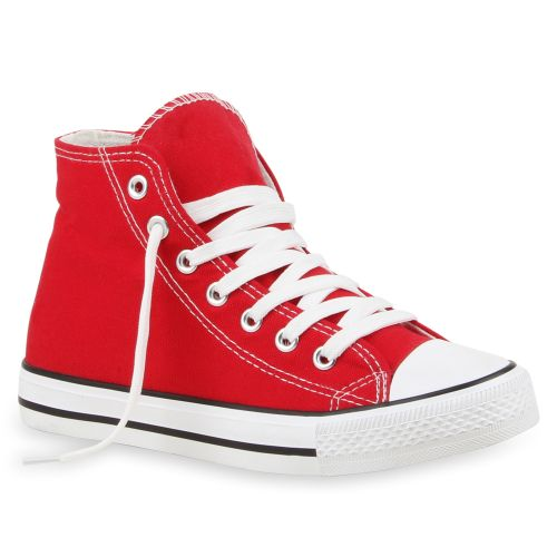 Damen Sneaker high - Rot