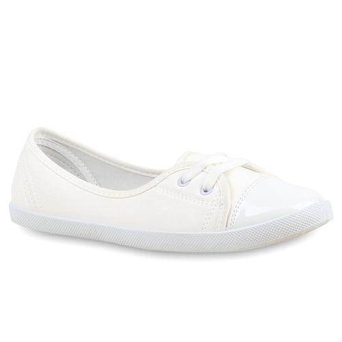 Damen Ballerinas Sportliche Ballerinas - Weiß - Boqueixon