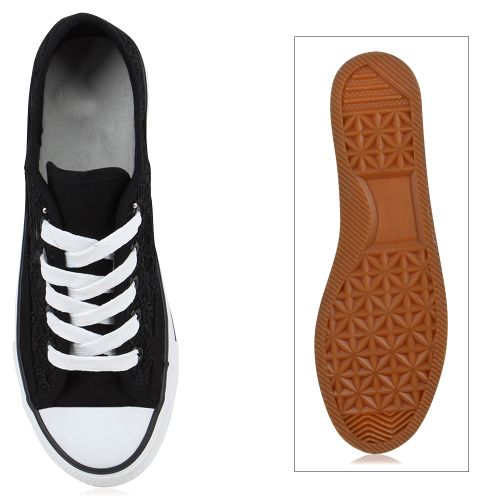 Damen Sneaker low - Schwarz