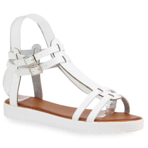 Damen Sandalen in Weiß (75531-686) - stiefelparadies.de c71438bcd9