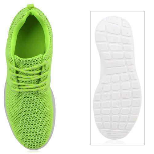 Damen Sportschuhe Laufschuhe - Neon Gelb