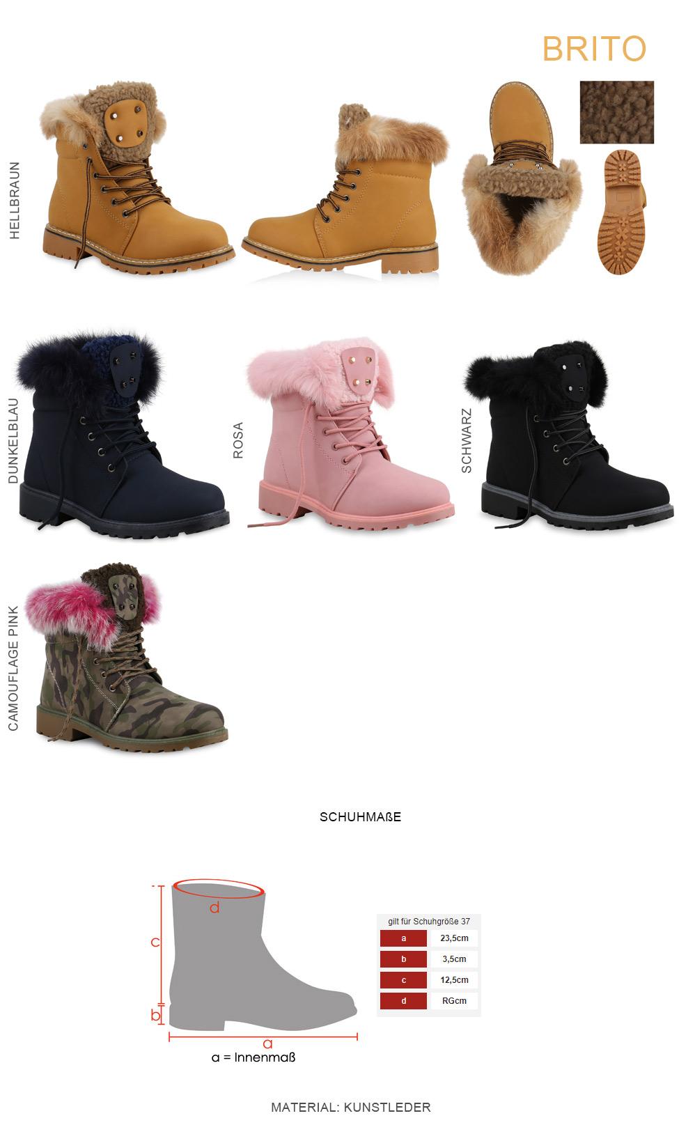 Herren Schuhe 46 Stiefel Damenamp; Warm Gefütterte Winter 36 rBoeCxd